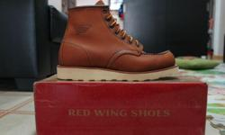 - Wanted to dispose my Red Wing 875 Moc Toe collection