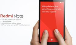 Redmi Note Brand new sealed in box Technical Specs