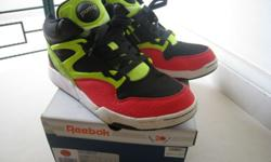 A pair of used REEBOK sport shoe (Pump Omni Lite) for
