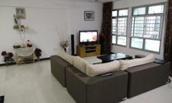 REntal @ Fernvale LInk - common room and master bedroom