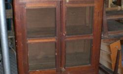 *RARE* Solid Wood Kitchen Cabinet in good condition!