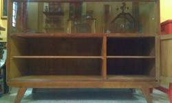 Vintage Retro Cabinet Teak Wood for Sale Approximate