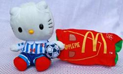 McDonald's Hello Kitty Series. Velcro compartment at