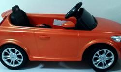Kids ride-on electric toy car. Manual & remote