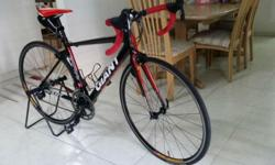 Giant Road bike - TCR Size - small 2 years - slightly