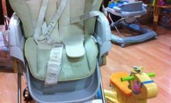 ROANJU - COMBI SWING HIGH CHAIR - BEIGE for sale Comes