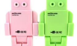 HI ALL, I HAVE SOME ROBOT SHAPE USB 2.0 (4 PORT HUB) @