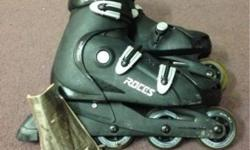 ROCES ROLLER BLADE WITH ACTIVE WRIST AND KNEE PAD Item: