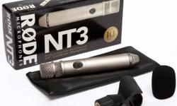"RODE NT3 (3/4"" Cardoid Condenser Microphone) Products"
