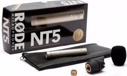 "RODE NT5 (Compact 1/2"" Cardioid Condenser Microphone)"