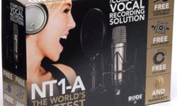 "RODE NT1-A (1"" Cardioid Condenser Microphone) Products"