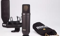 RODE NT1 Kit (Complete Recording Kit) Product Features