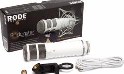 RODE Podcaster (Broadcast Quality USB Microphone)
