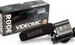 RODE VIDEOMIC ( Directional On-Camera Microphone )