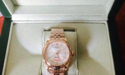 Rolex Cellini Sapphire glass Brand new With Rolex bag,