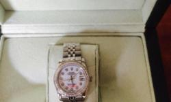 Rolex Datejust Diamond Sapphire glass Brand new With