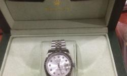 Rolex Datejust Sapphire glass Genuine weight! With