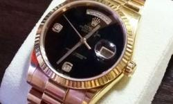 Selling Rolex Men Watch -100% Authentic; in perfect