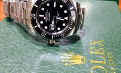 Sapphire glass Ceramic bezel Bright lume With box and