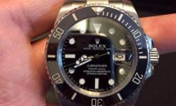 Ceramic Bezel Sapphire glass Bright lume Genuine