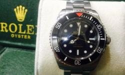 Rolex Submariner Dateless Brevet Edition Ceramic bezel