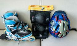 Rollerblade Set - Rollerblade - Used - Knee & Elbow