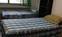 single bed available at $500, two single bed room at