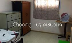 It is a 3 Bedroom furnished unit and one common rooms