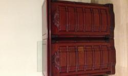 Rosewood wine and bar cabinetry, made of strong