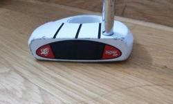 Used Taylormade Rossa Corza Ghost Putter. 3 lines and