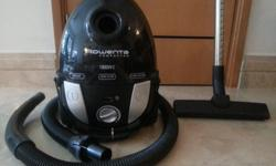 Rowenta Vacuum Cleaner & 3 bags Asking: $80 but price