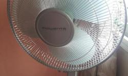 Rowenta zenitude fan with remote very good condition.