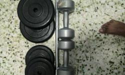 I am selling my weight set comprises of followings, 1.