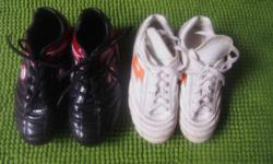 Good quality Patrick Rugby boots, the black and red one