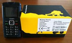 "Brand new RugGear P120C ""ProGuard"" rugged mobile phone"