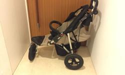 $200. Very good condition. Great running stroller,