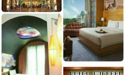 Selling hotel stay at RWS for Festive Hotel and Hotel
