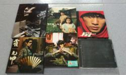 Selling off my old Jay Chou's 6 CD Albums @ S$50.00,