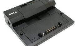 Dell Docking Station Used Dell E-Port Replicator PR02X