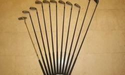 Rarely used high-quality Dunlop Golf Set with a new