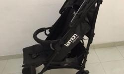 Used baby stroller but well-maintained, fully