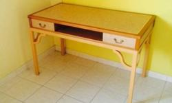 Selling my study desk for $50. Price is negotiable.