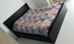 Sale Queen Size Bed Frame with 4 Drawers, free
