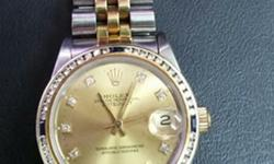 Sale Rolex Watch, good condition, good working. Call Ms