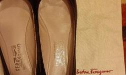Dark brown colour of salvatore ferragamo shoe size