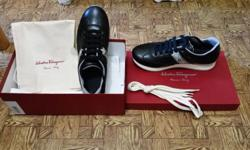 Original brand new Salvatore Ferragamo black colour