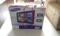 "Samsung LCD 32"" for $350 only, brand new, still in the"