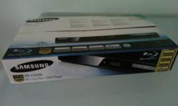 Samsung BD-C5500 full HD bluray player , used 1 year,