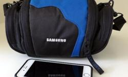 For sale: Samsung camera bag (Used) - Good condition -