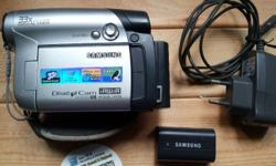 Tip Top working condition Samsung Digital Video Camera,